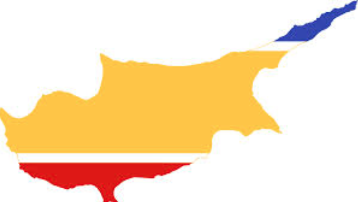 proposed-Flag-map-of-the-United-Cyprus-Republic-yellow