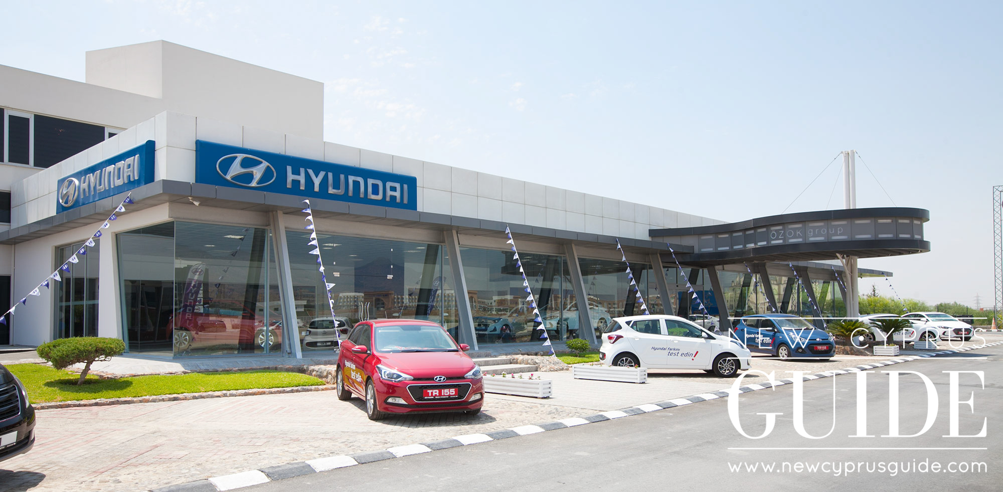 The Hyundai Asok garage in Lefkosa