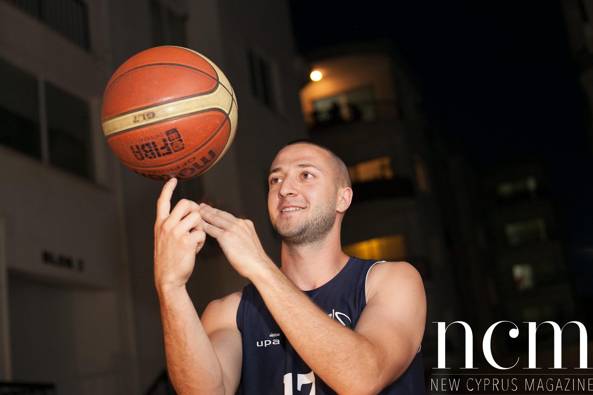 Saša Vural – Swedish basketball pro in North Cyprus