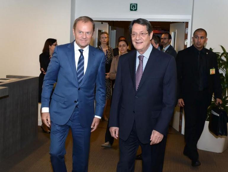 tusk-President-Nicos-Anastasiades-meeting-on-Cyprus