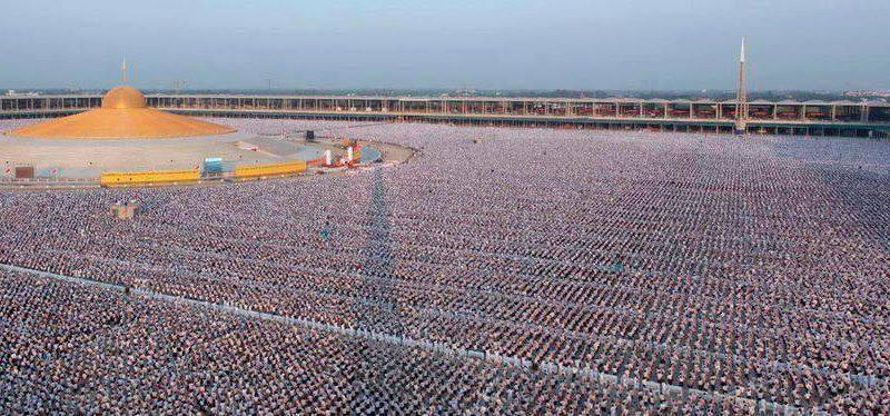 1 million children praying for world peace in Thailand