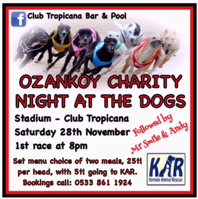 Race night for charity