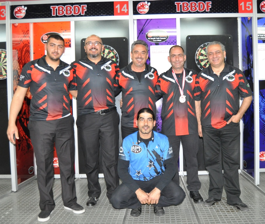 TRNC darts team