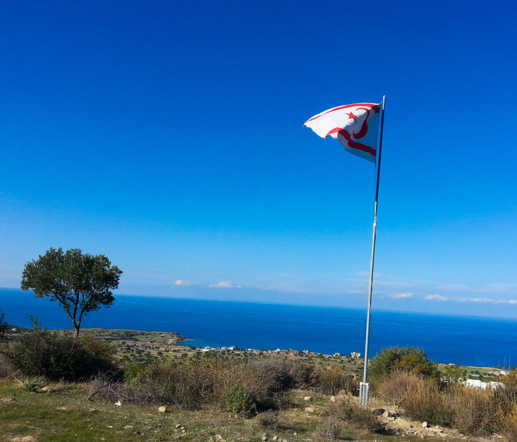 Turkish cypriot flag