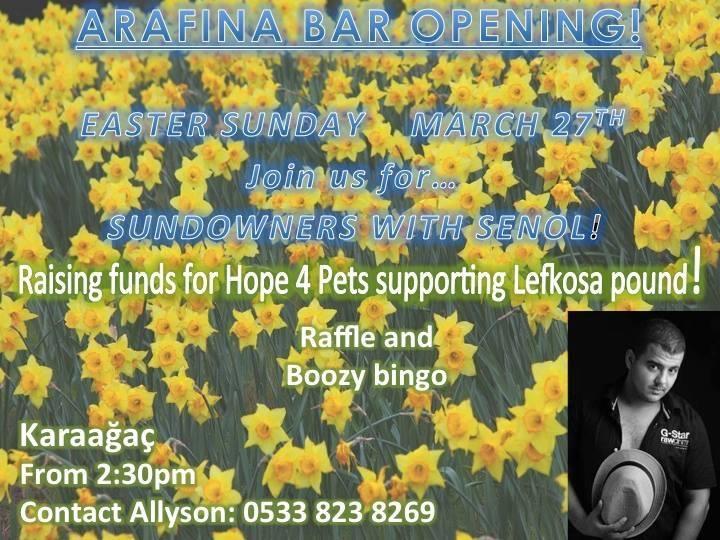 Arafina Bar opening