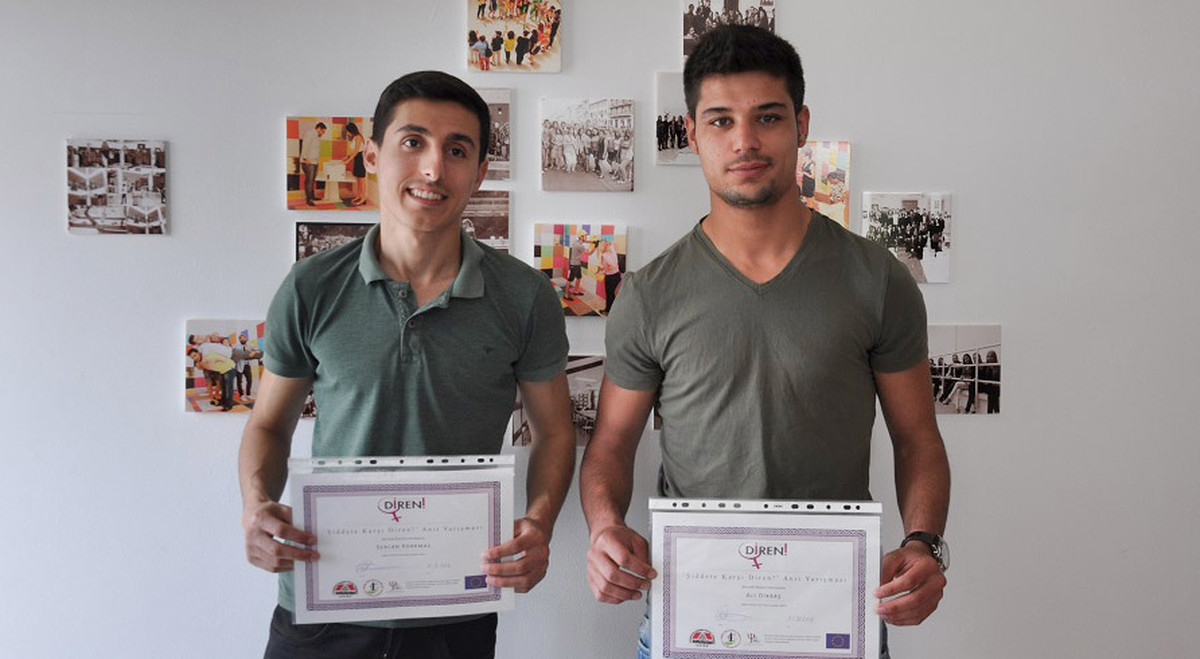 Sercan Korkmaz, 21, and Ali Dikbaş 22