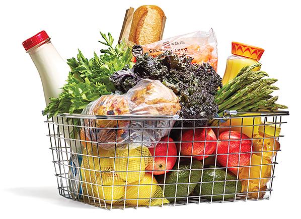 Basket of goods