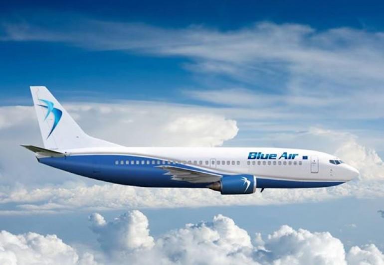 Blue Air flights from Larnaca