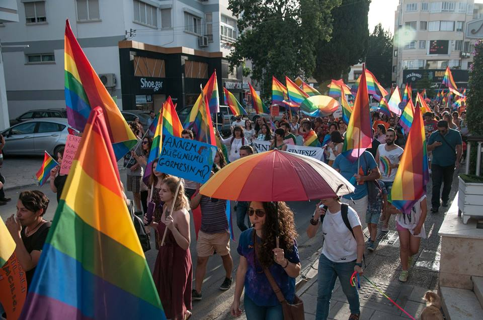 Gay pride celebrated