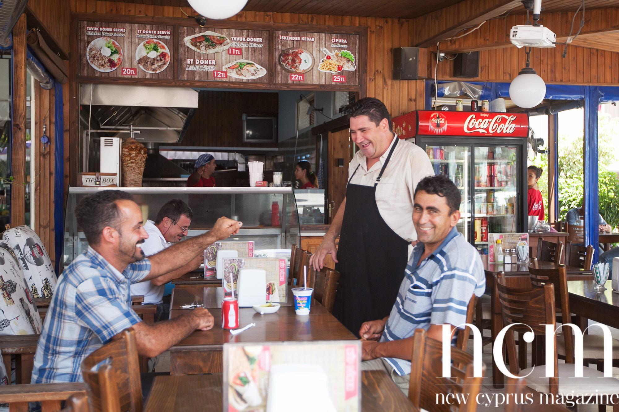 kebab restaurant north cyprus
