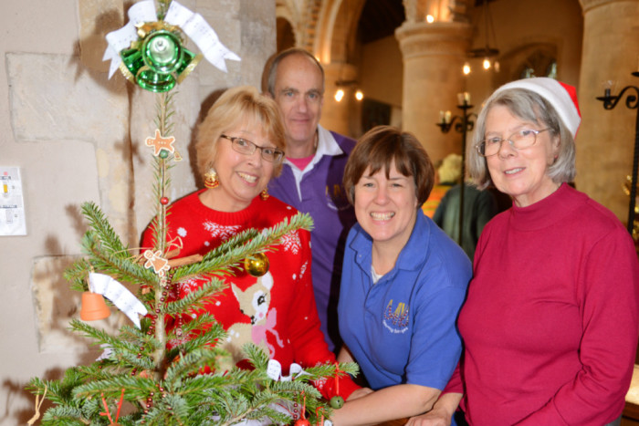 Seasonal festive fun at St Andrew's
