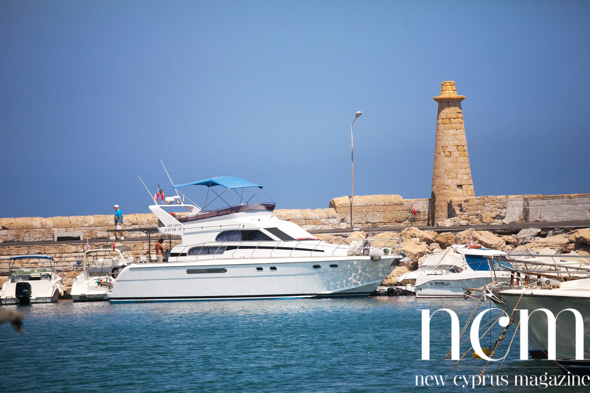 Boats in Kyrenia harbour