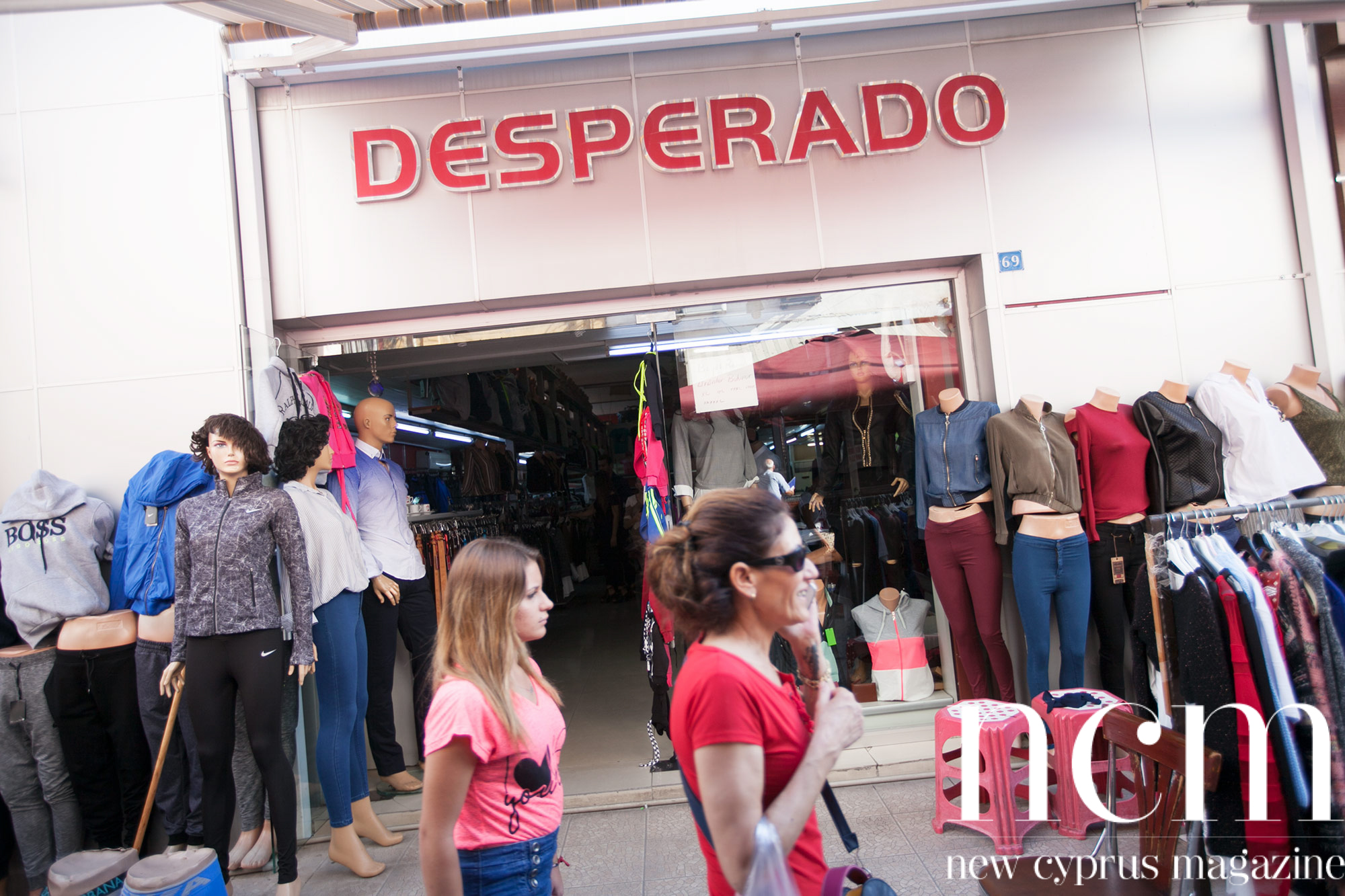 Desperado clothing shop