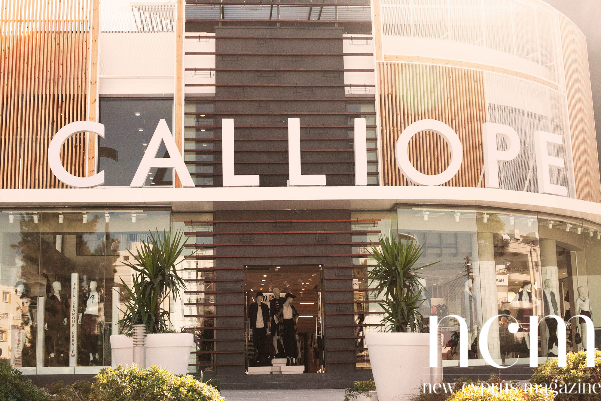 The popular clothing shop Calliope