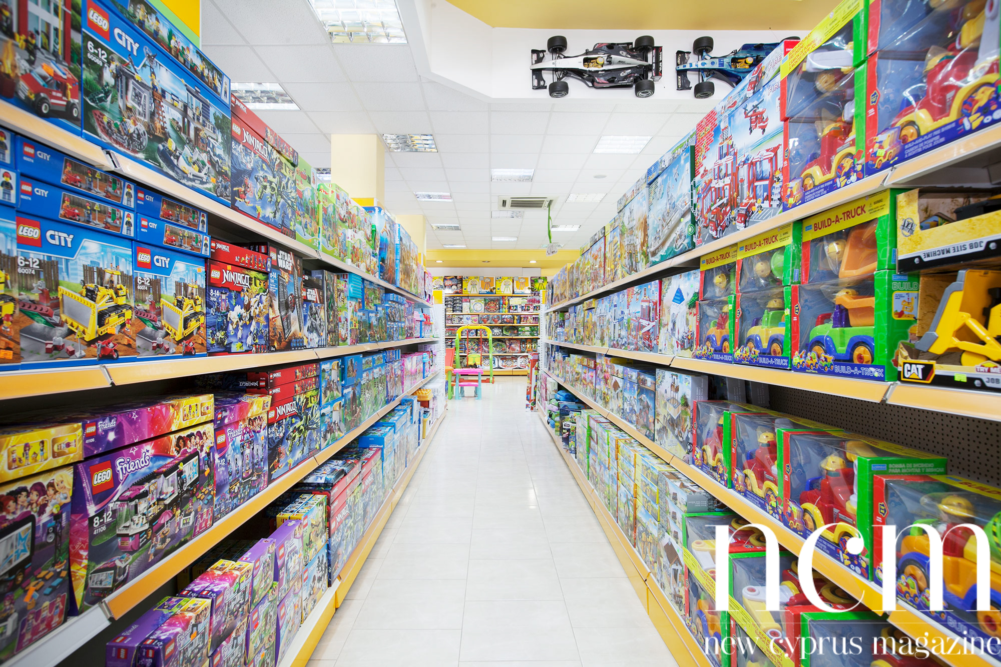 Aksoy toy store in Nicosia, North Cyprus