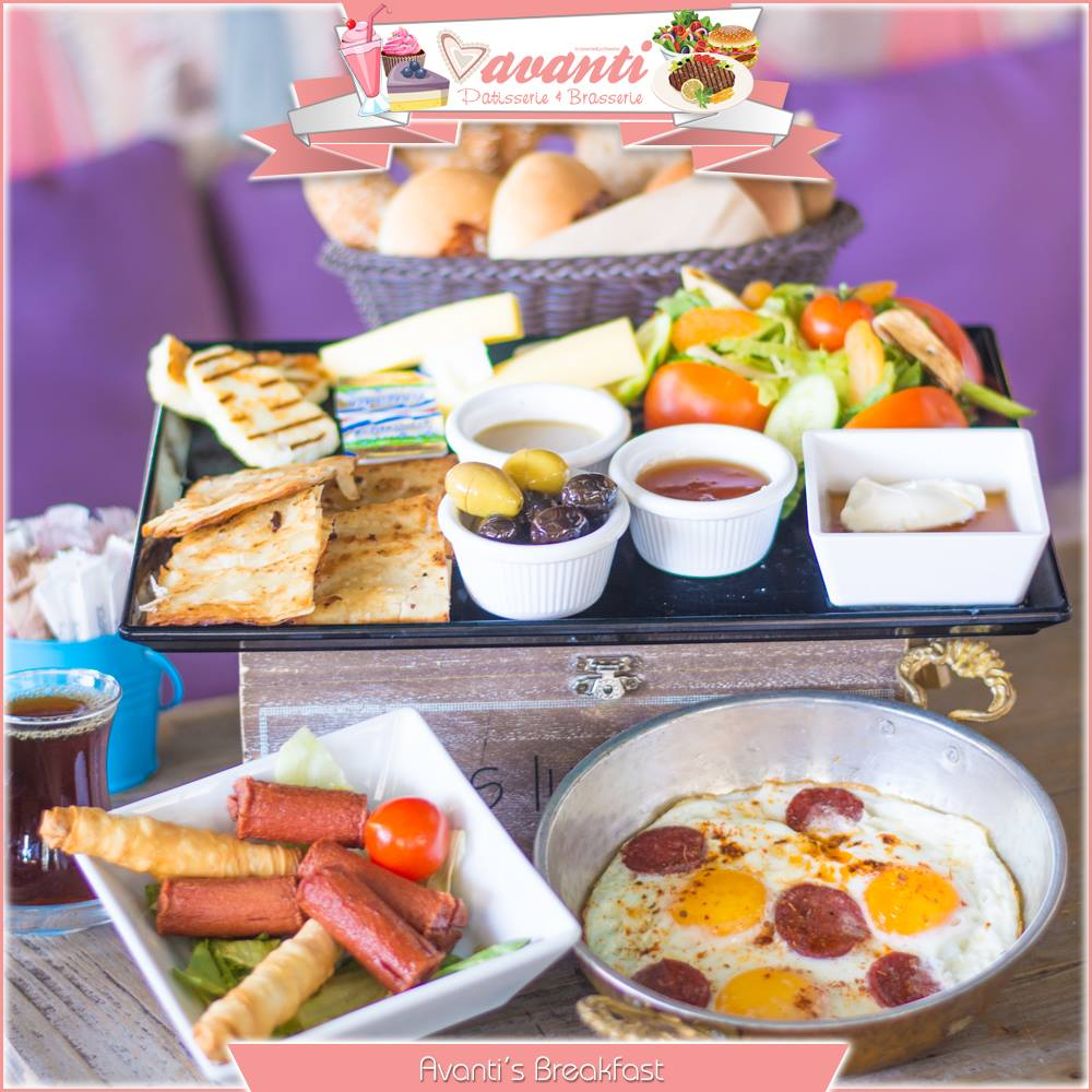Sweet things at Avanti Patisserie & Brasserie