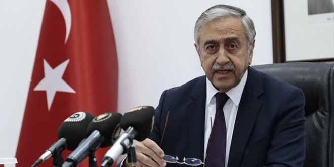 Turkish Cypriot President Mustafa Akinci