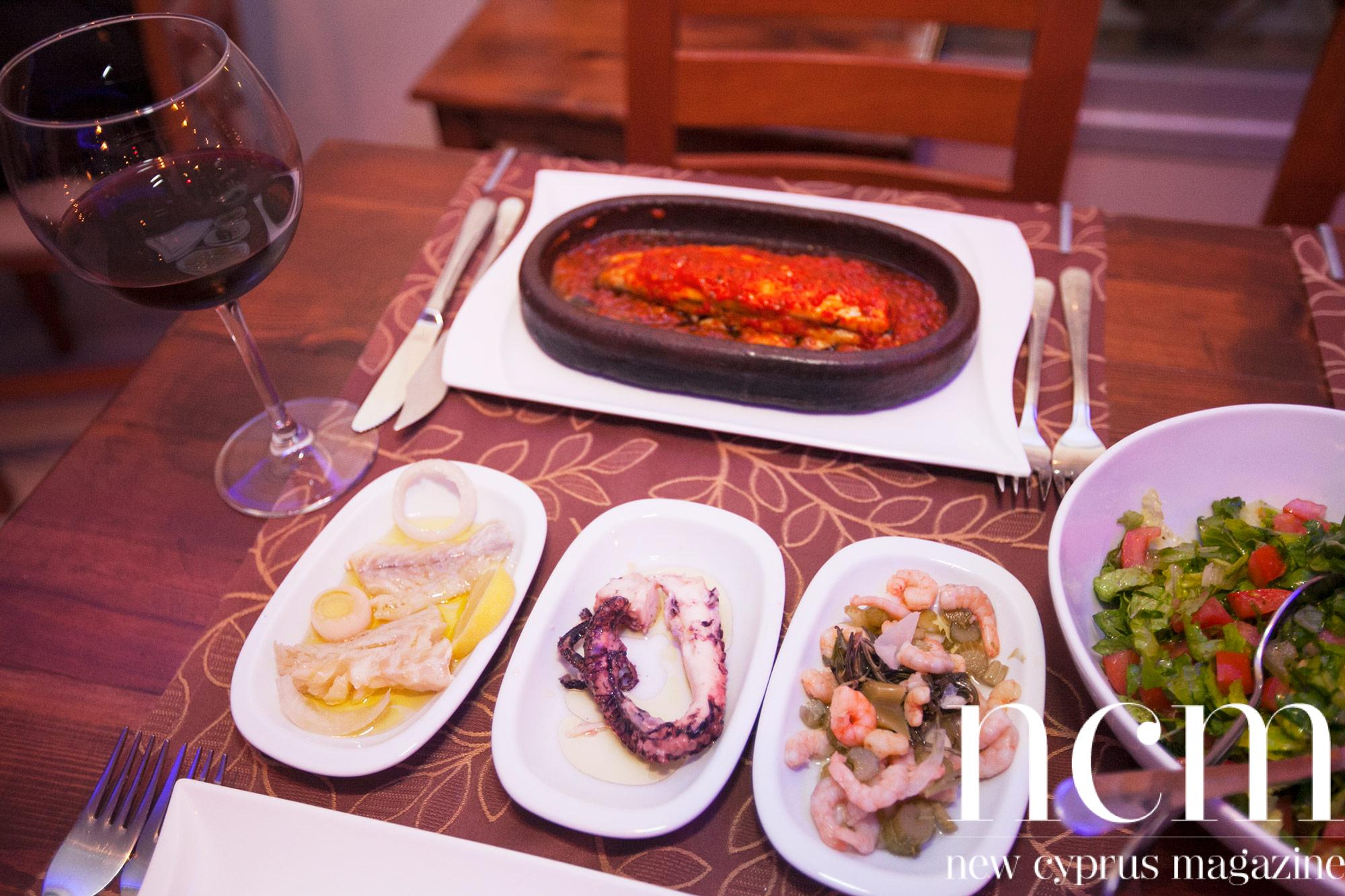 Grida Balık serves seafood delicacies