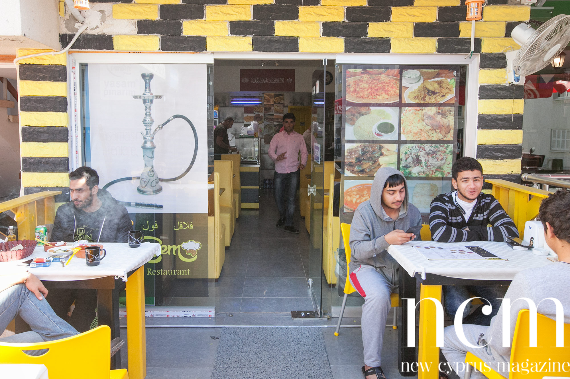 Arabic Zem Zem fast food restaurant