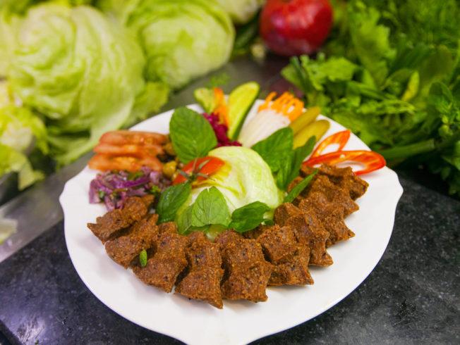 Komagene serves Çiğ Köfte in Girne