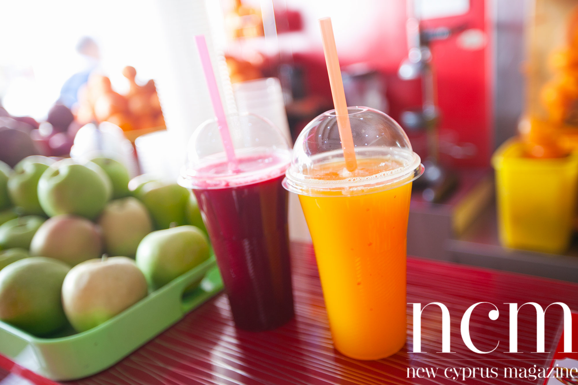Delicious juices served in Kyrenia