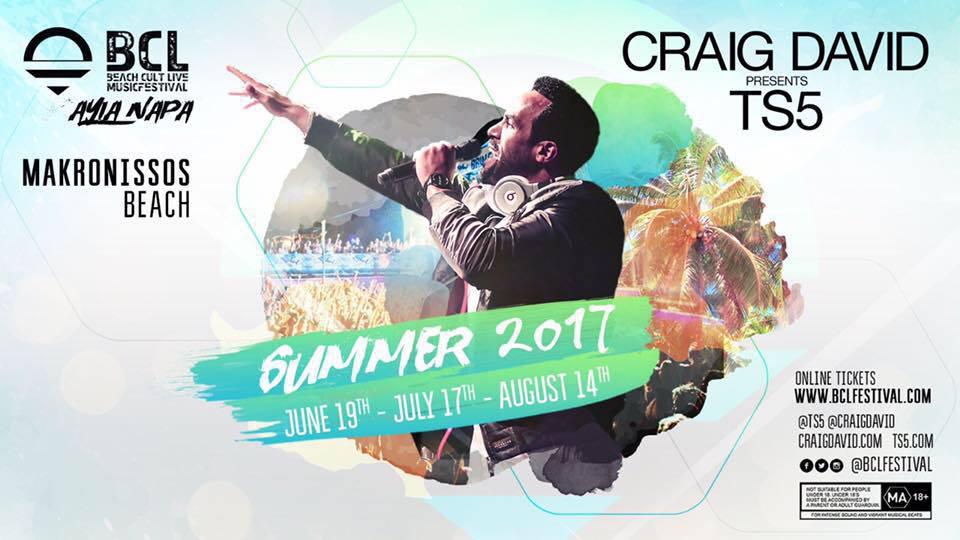 Ayia Napa gig dates Craig David in Cyprus