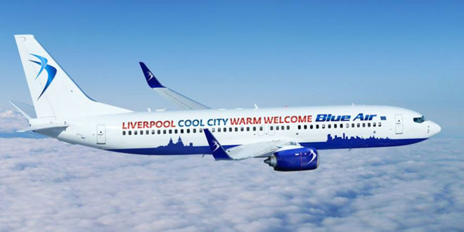 Blue Air announces Larnaca-Liverpool flights