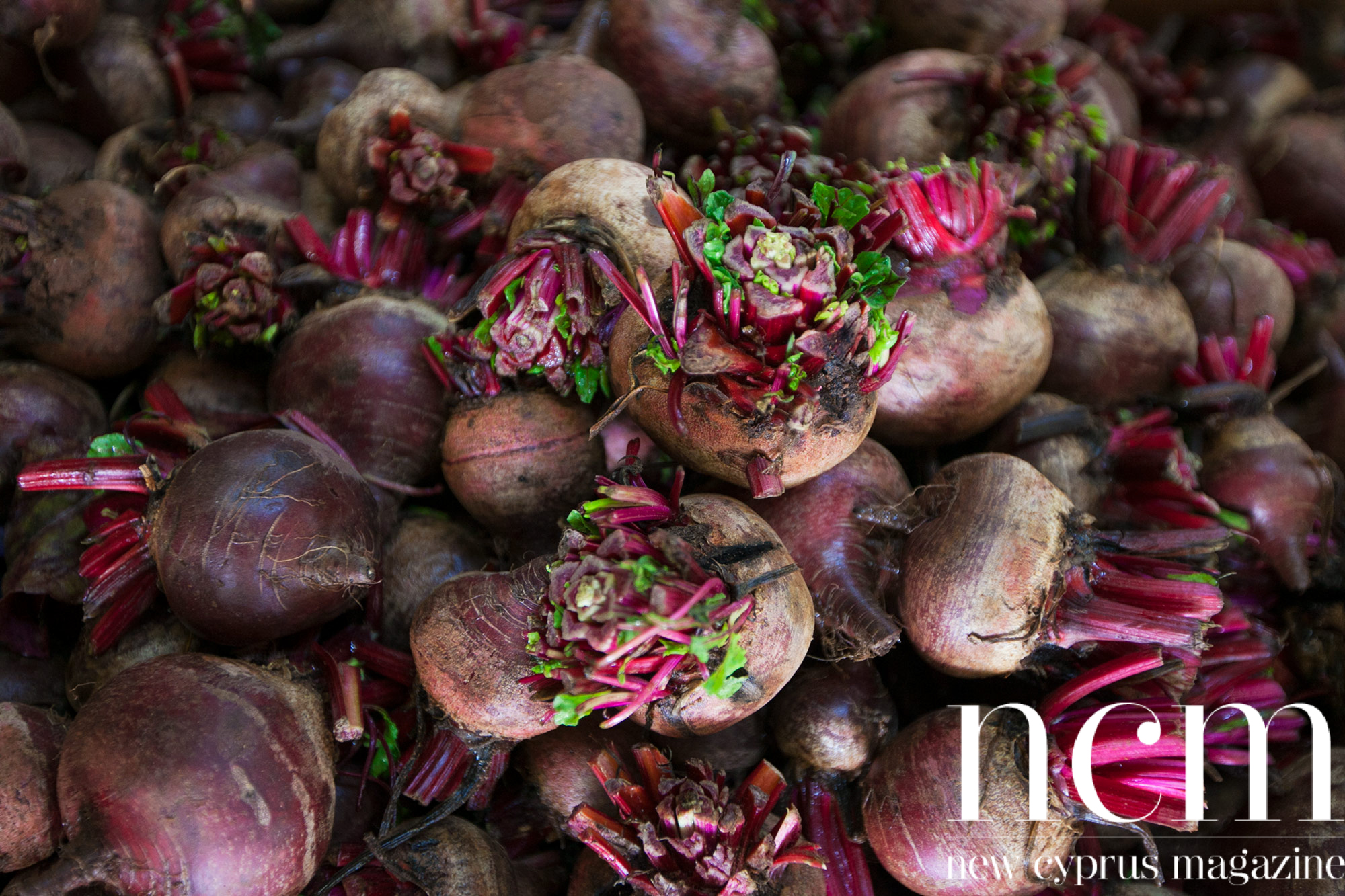 Beetroot at Fruit veg Ya Beles in North Cyprus