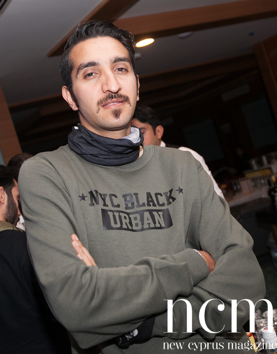 Iranian rapper Behzad Leito at Salamis Hotel