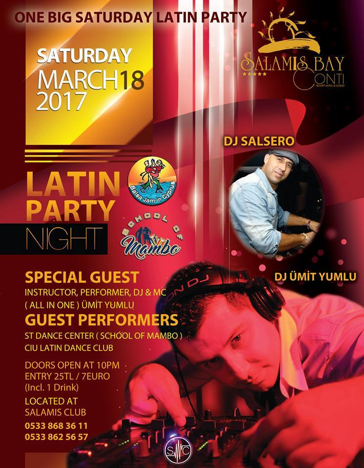 Latin Party Night Salamis