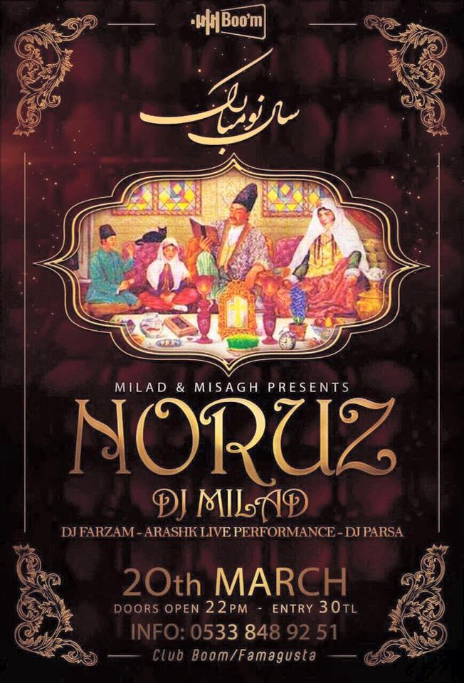 Noruz celebrations Monday