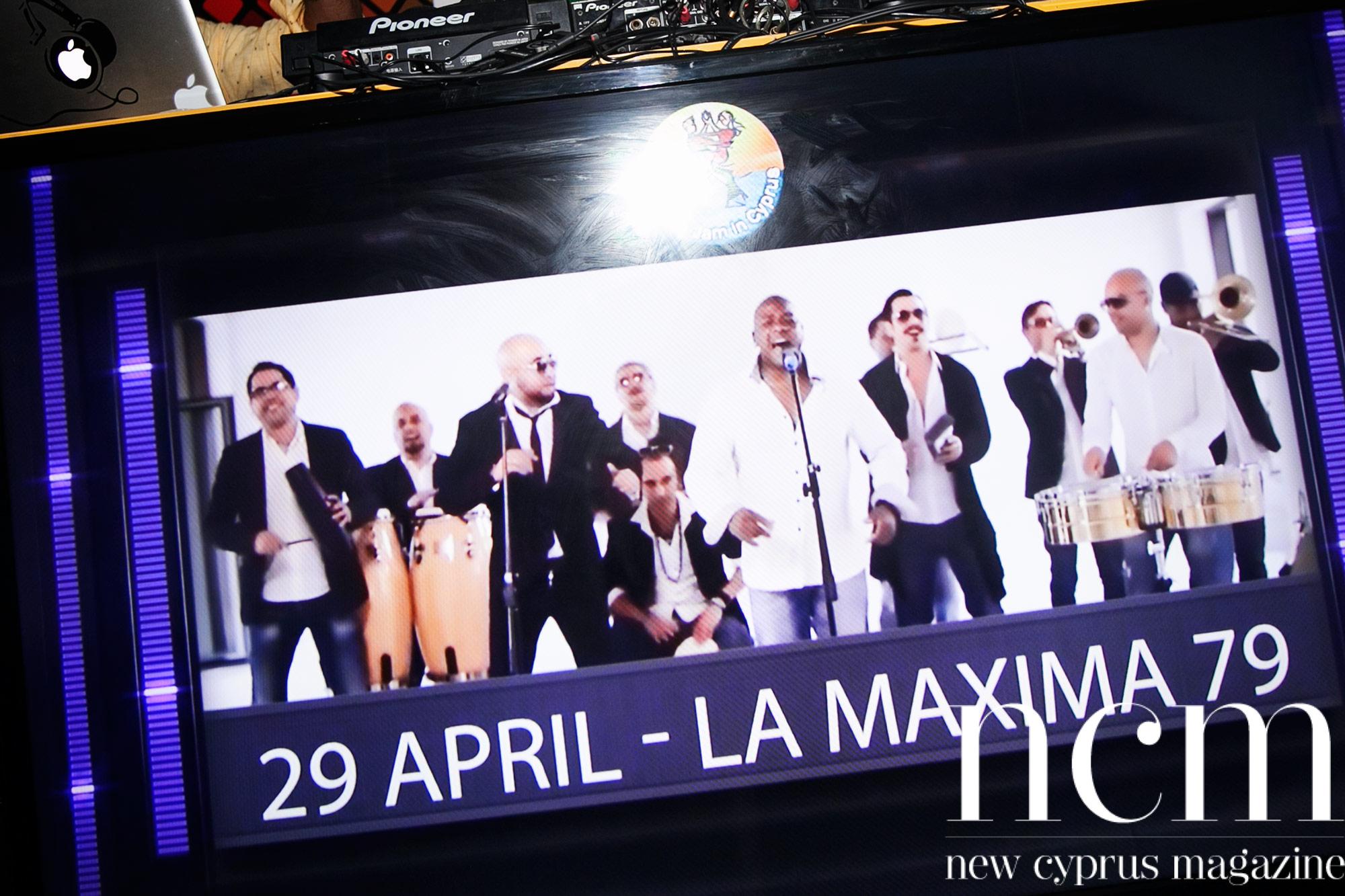 Salsa party Salamis poster