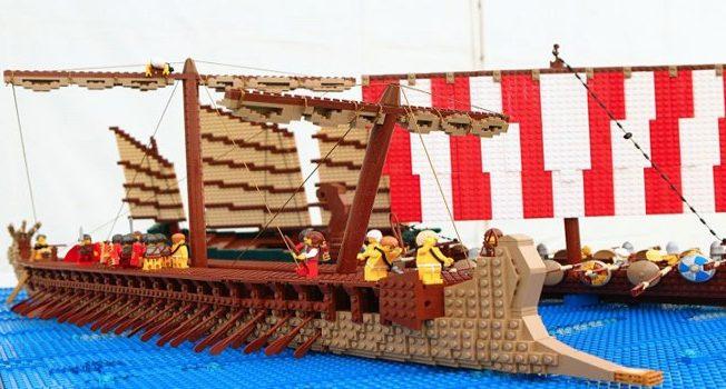 Mall Lego display