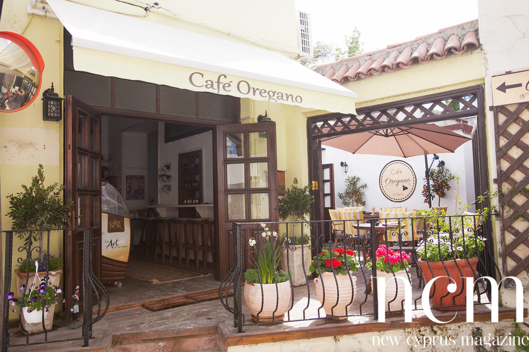 Café Oregano Bellapais, North Cyprus