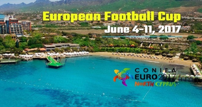 Conifa 2017 football tournament