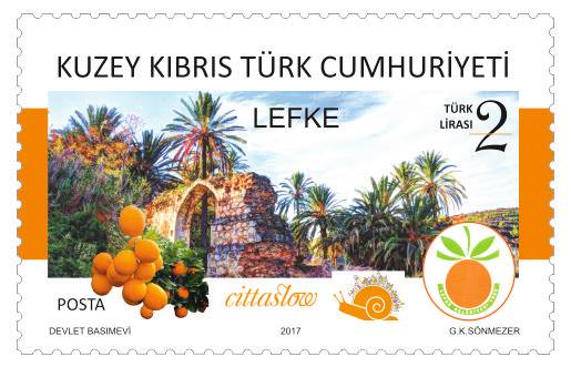 First-day cover stamps feature Cittaslow theme