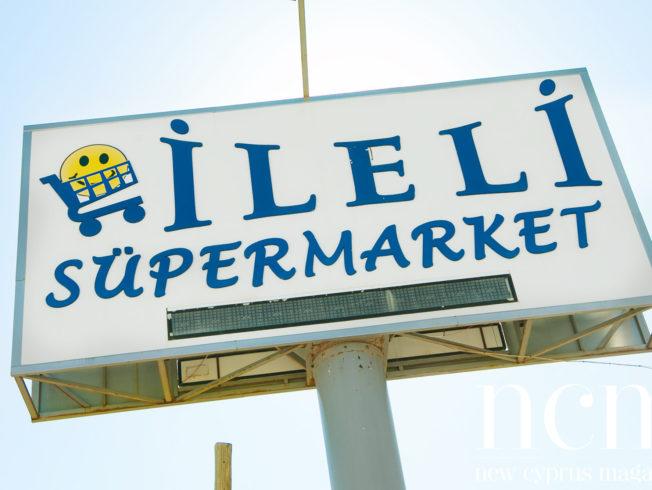 Ileli Supermarket sign