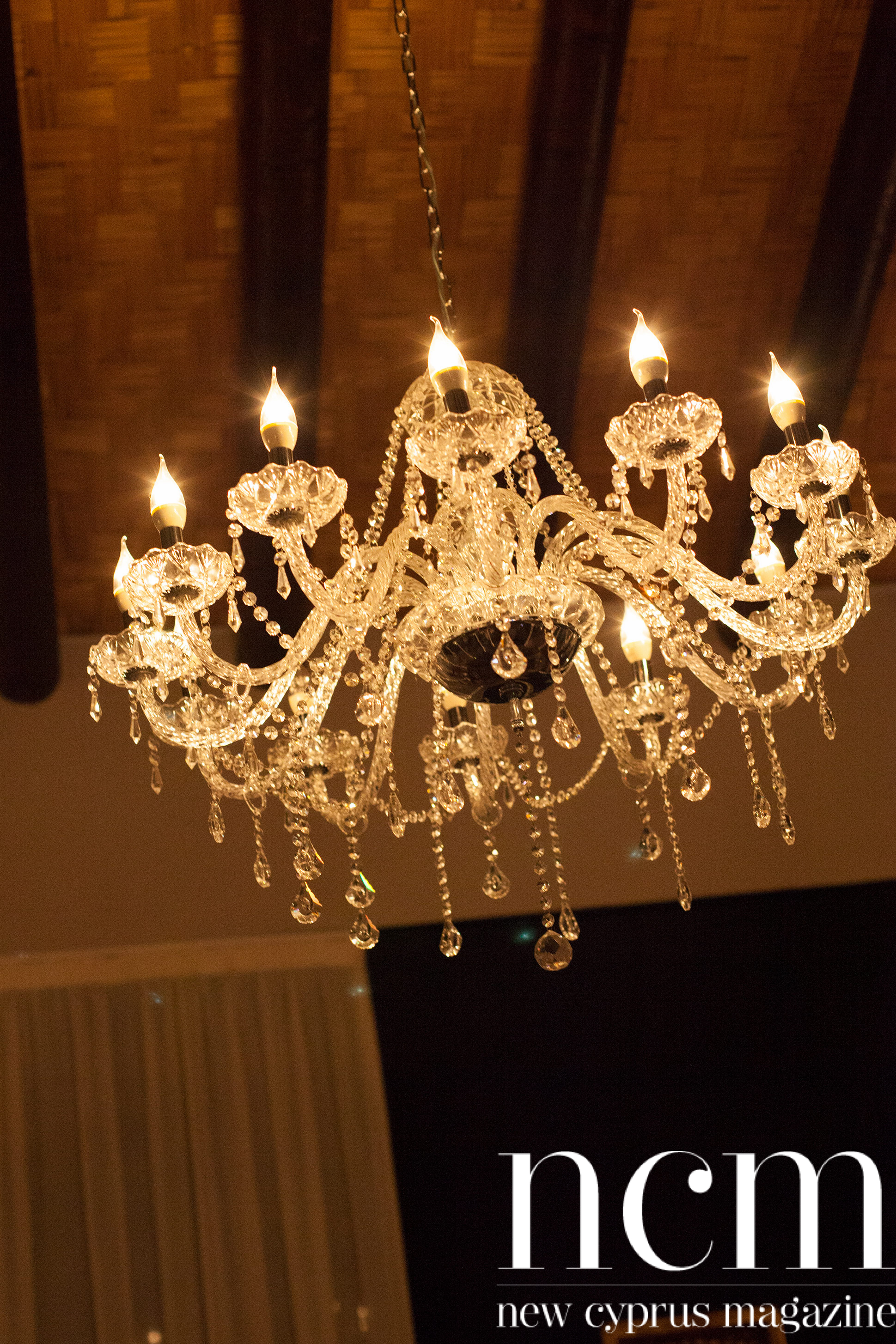 Jazz tones Blakes Lounge chandelier