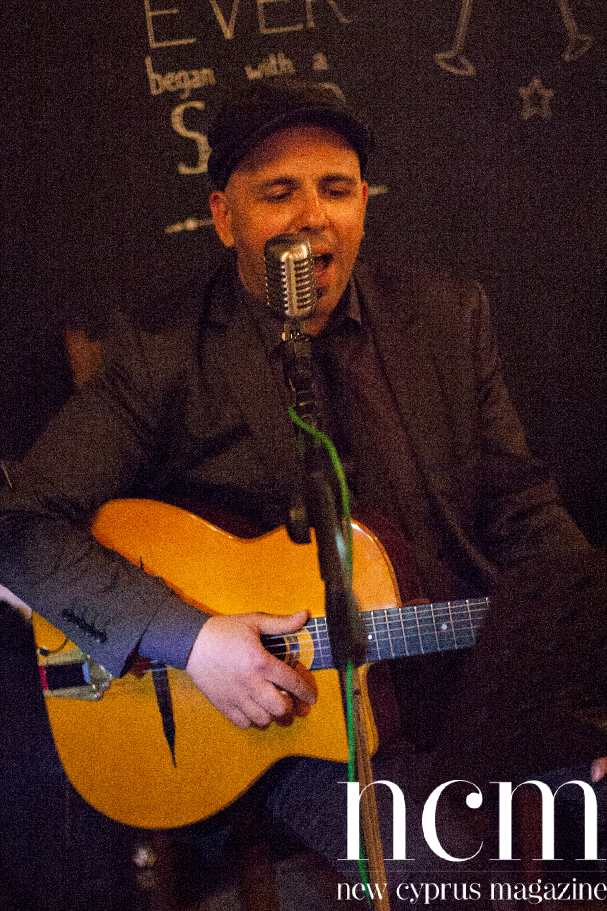 Jazz tones Blakes Lounge singer