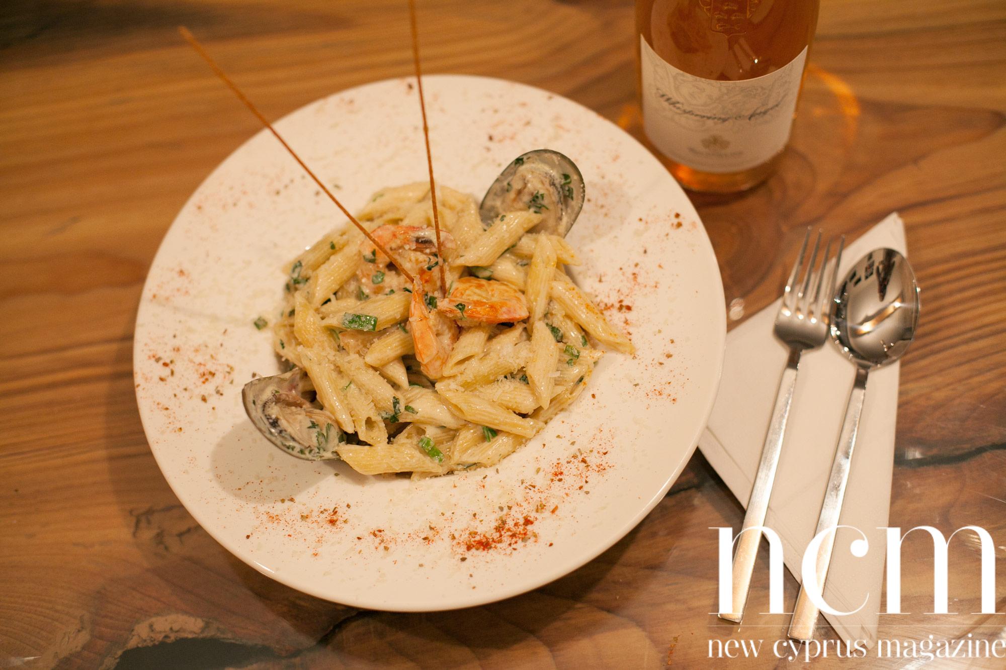 Sicilian Kyrenia's new Italian seafood pasta