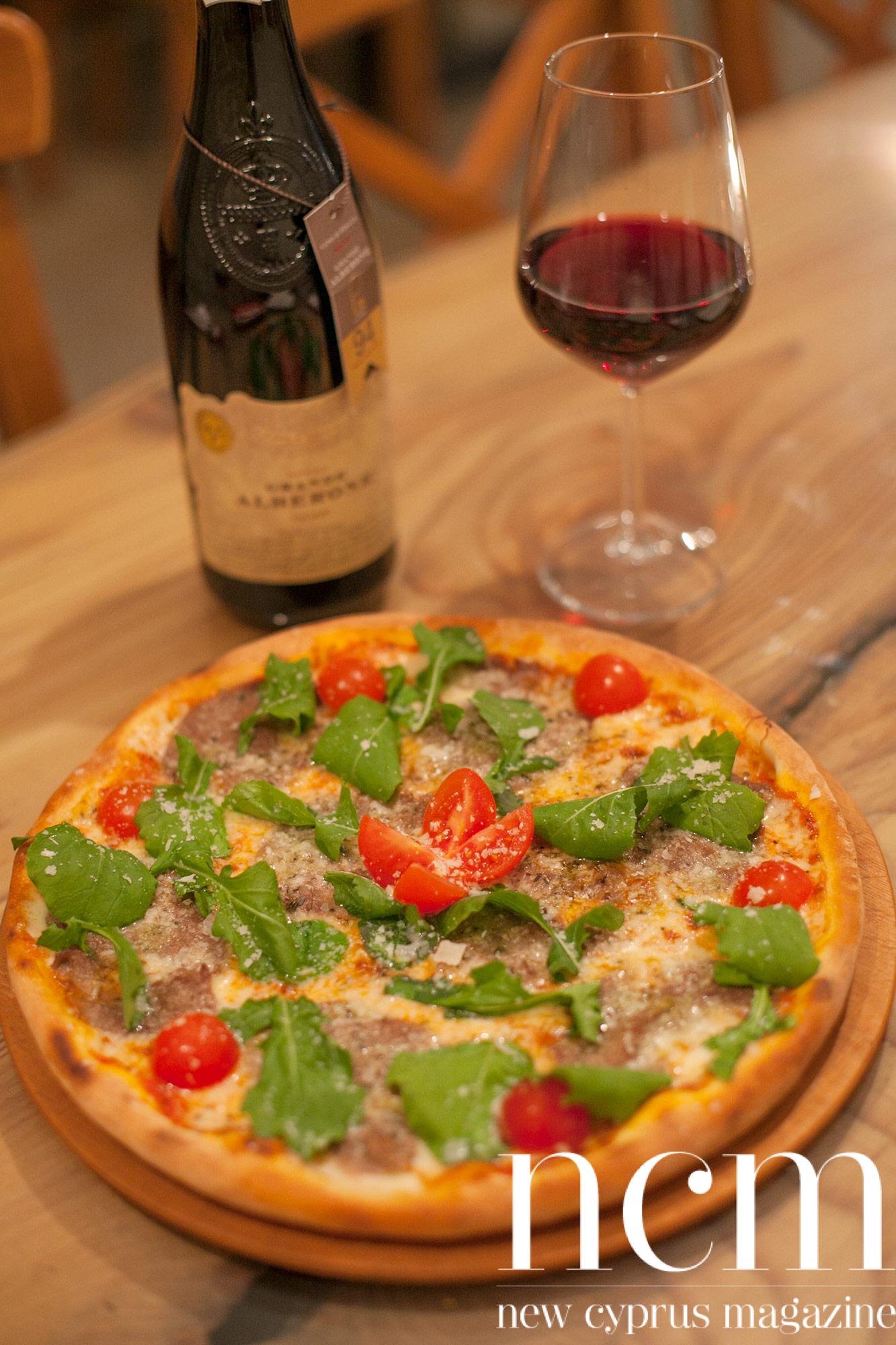 Sicilian Kyrenia's new Italian pizza