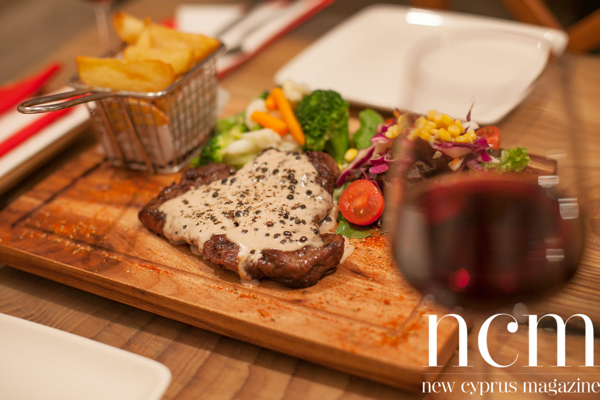 Sicilian Kyrenia's new Italian steak