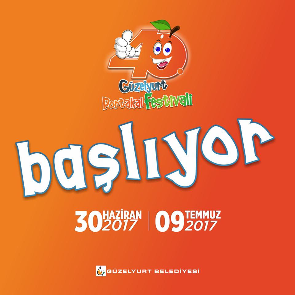 Annual Orange Festival launch poster