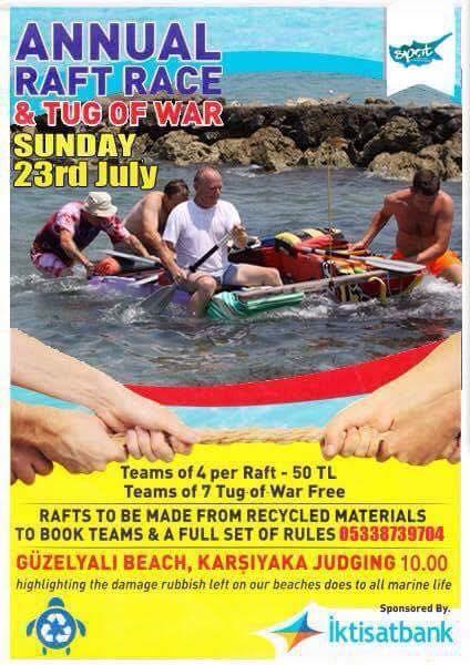 Karsiyaka Turtle Watch raft race