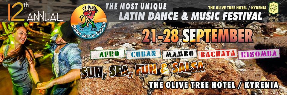 New venue 12th Salsa Jam Cyprus