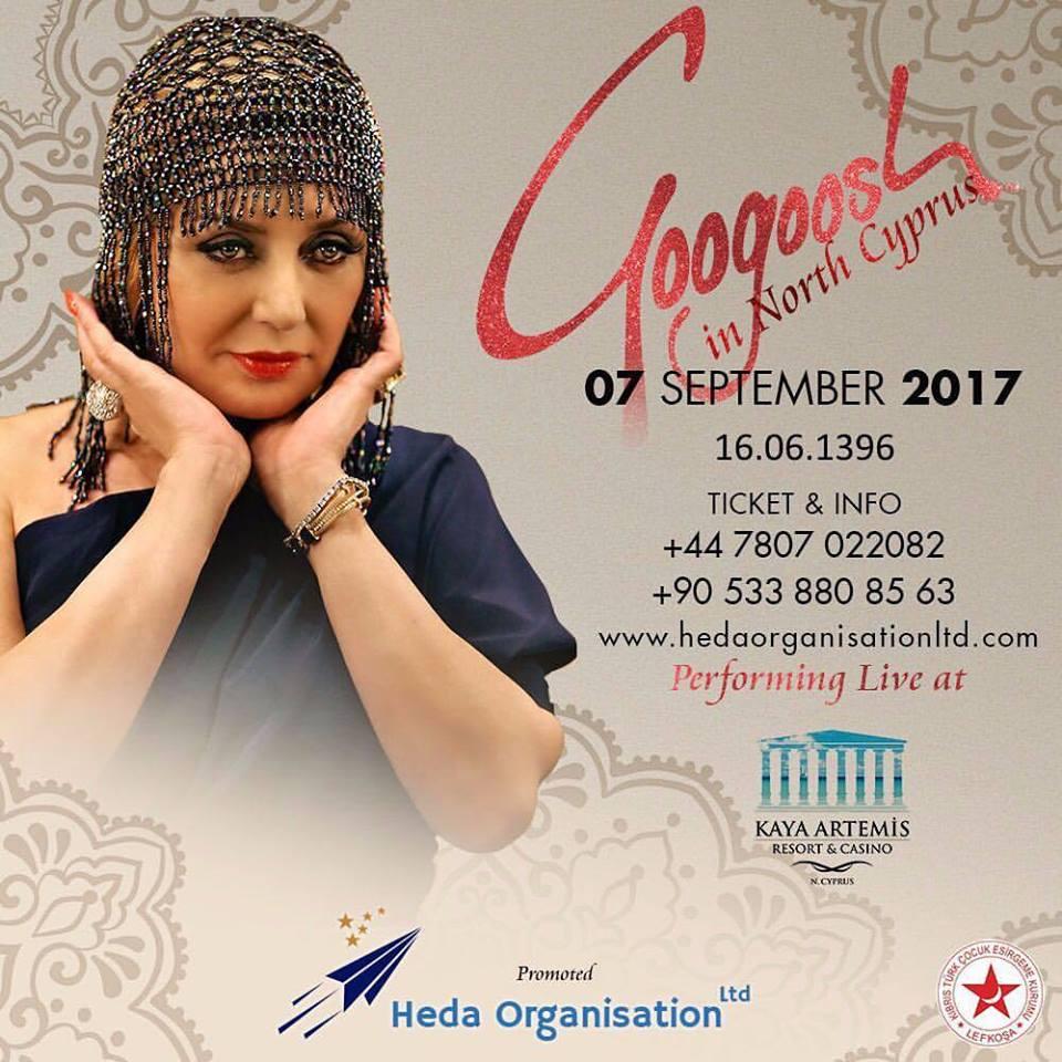 Famous Iranian popstar Kaya Artemis