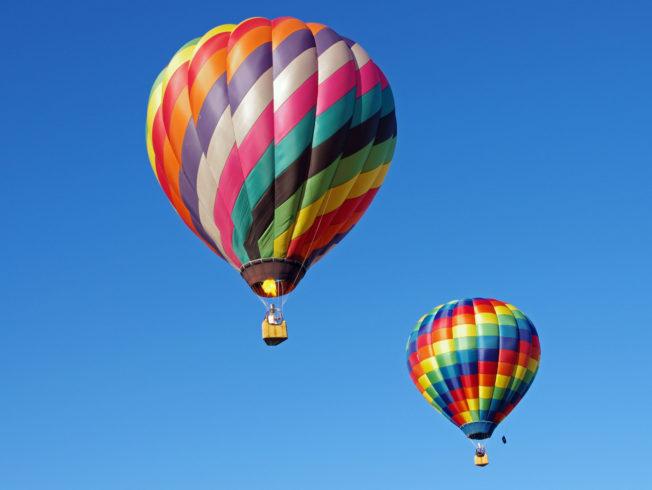 Hot air balloons North Cyprus