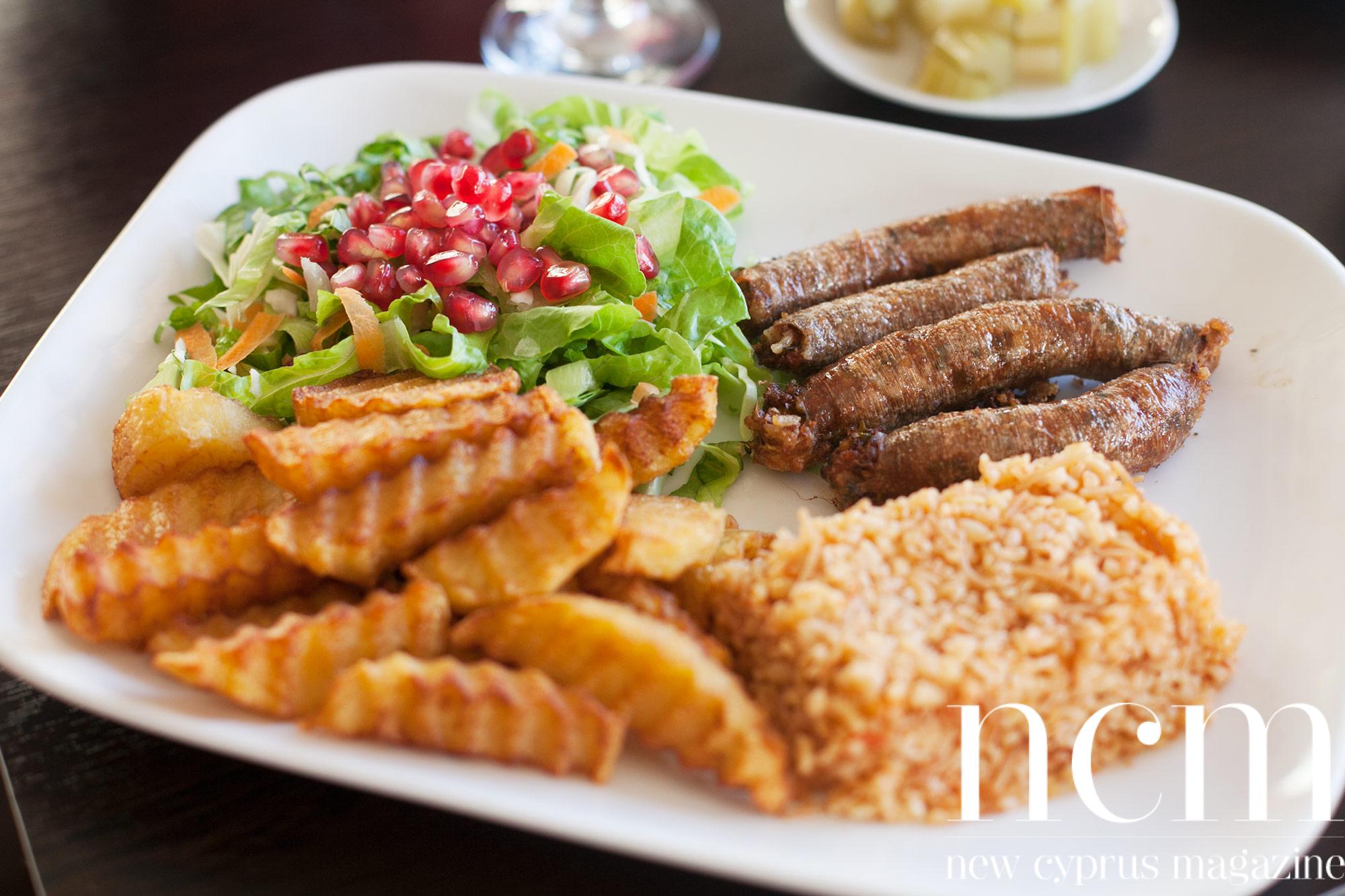 Restaurant inside the walls of Famagusta