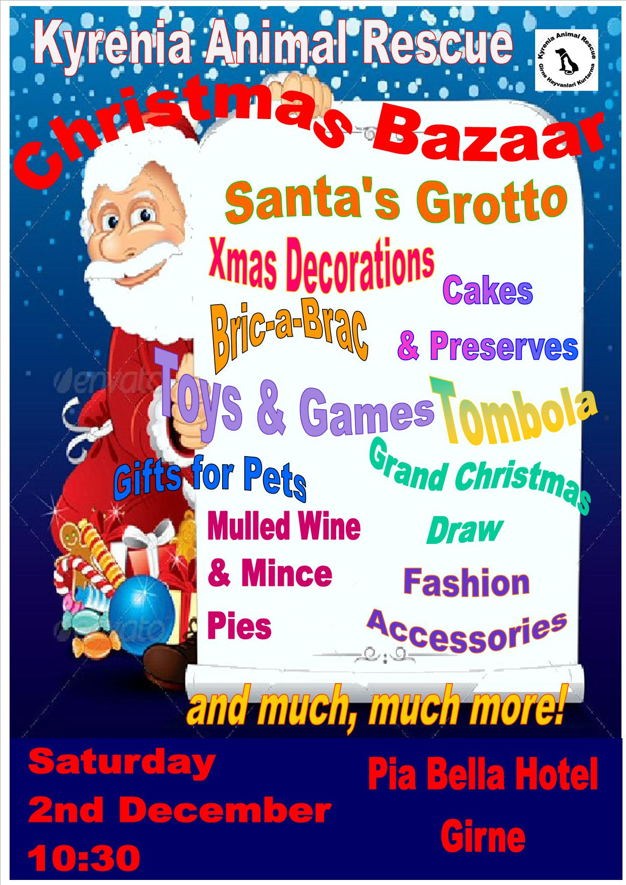 Kyrenia Animal Rescue's annual Christmas bazaar