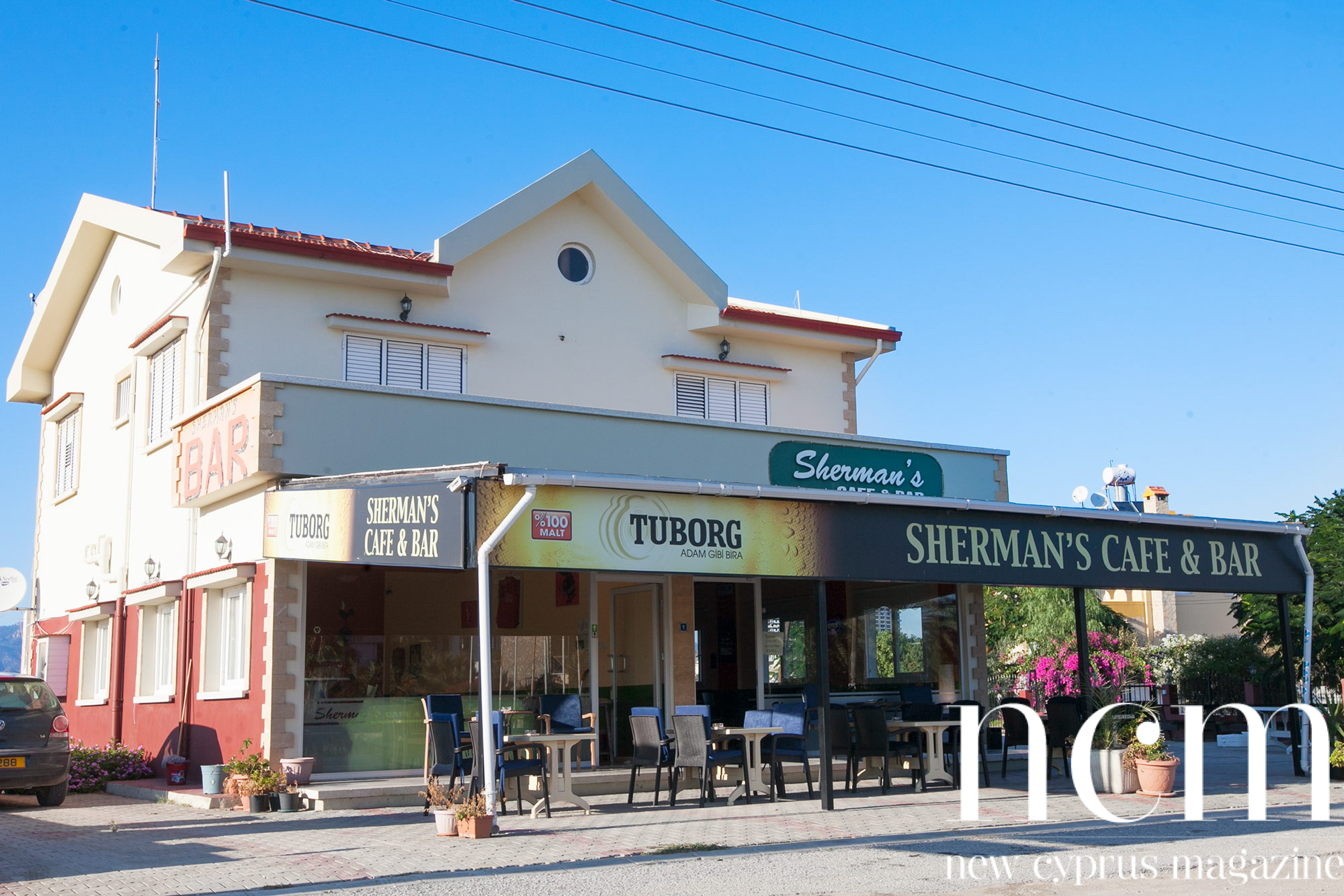 Sherman's Sports Bar Bogaz North Cyprus